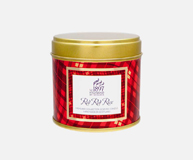 Red Red Rose Tin Candle