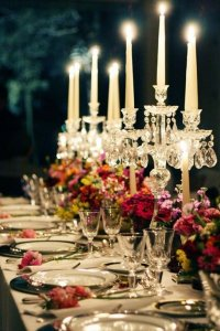 Wedding Dinner Candles