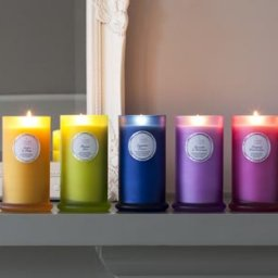 Couture Collection pillar candles