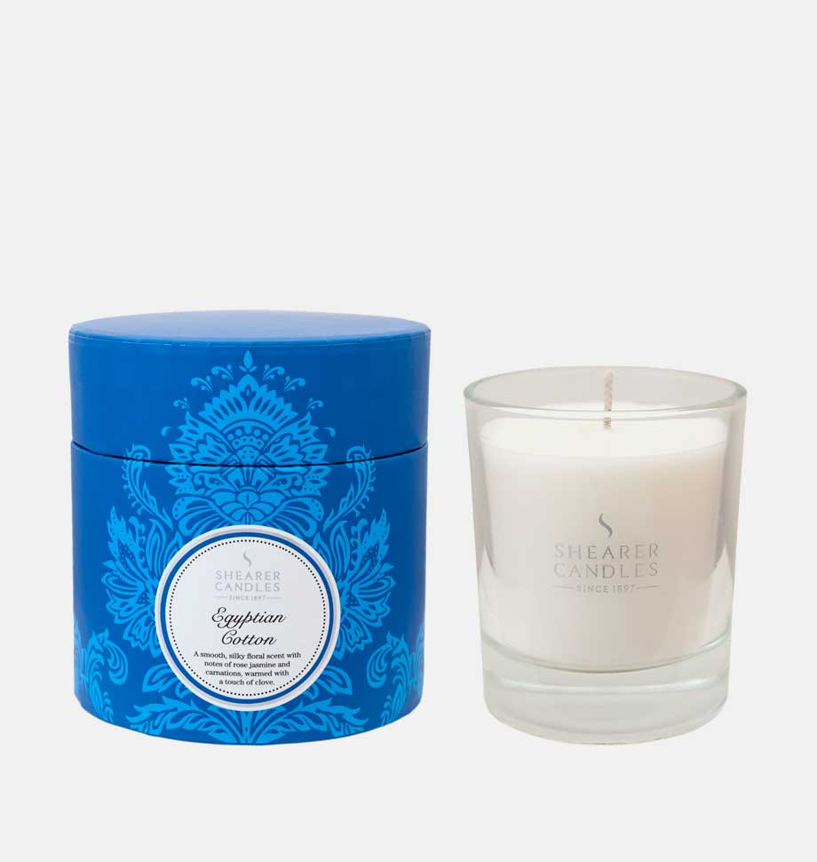 Egyptian Cotton Scented Candles