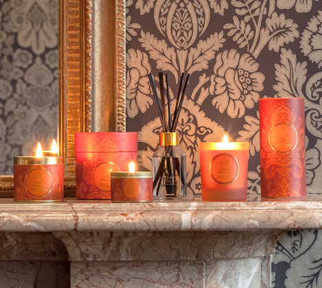 Orange Pomander Scented Candles