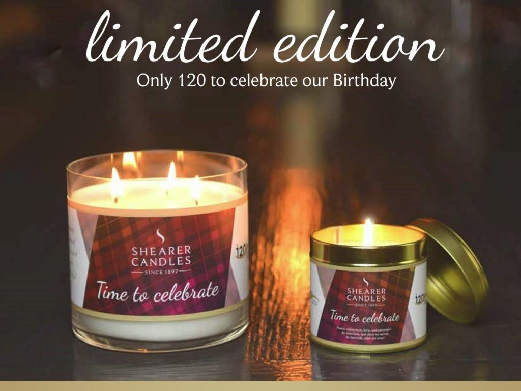 limited edition candle
