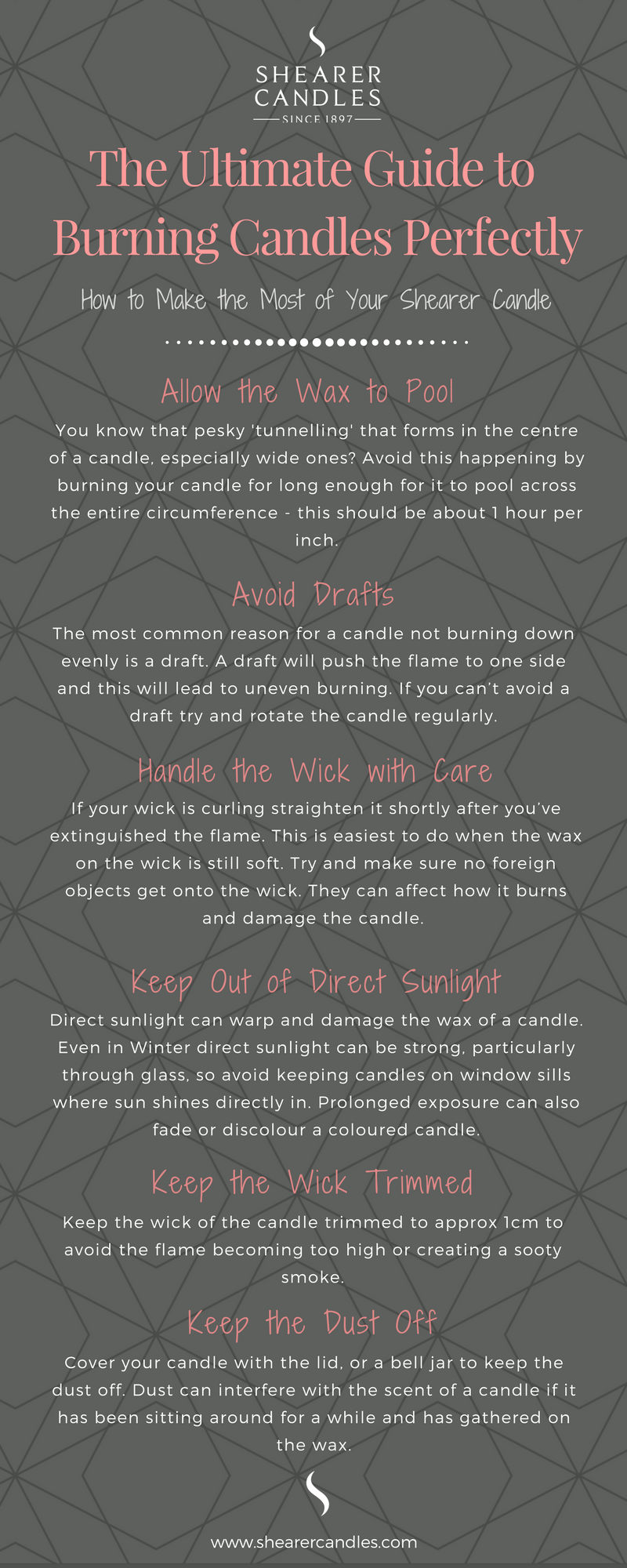 guide to burning candles perfectly