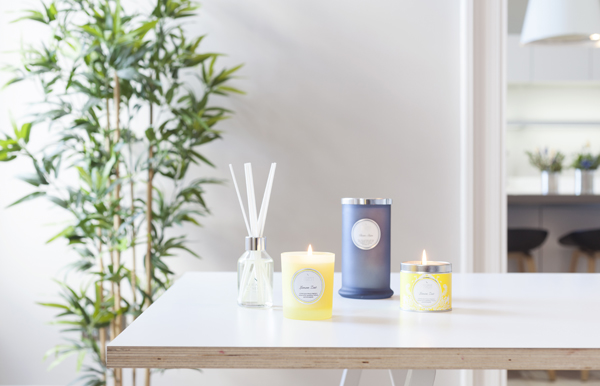 Lemon Zest and Clean Slate Fragrance Ranges