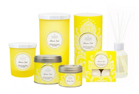 Shearer Candles' Lemon Zest Fragrance Range