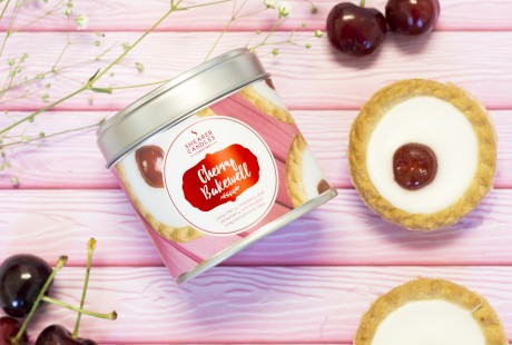 Cherry Bakewell Scented Candle