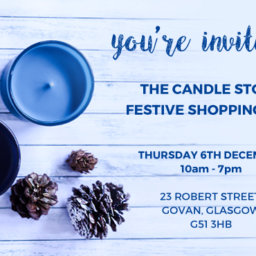 Candle Store Open Day