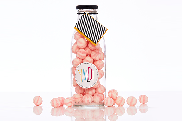 Yaldi Sweets' Prosecco & Strawberry Sweets