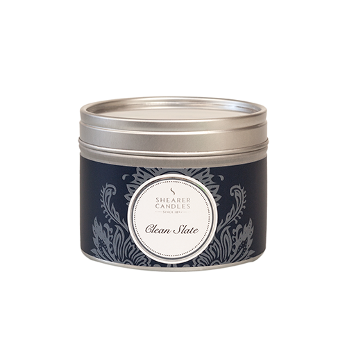 Clean Slate Small Scented Tin Candle