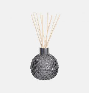 Grey Lustre Glass Reed Diffuser Bottle