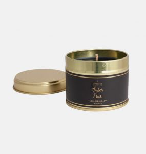 Amber Noir Small Candle Tin