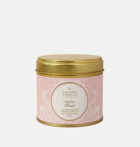Amber Blush Large Scented Tin Candle