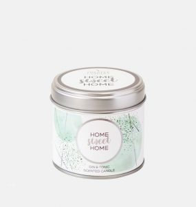 Home Sweet Home Large Scented Tin Candle