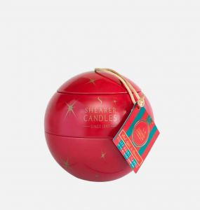 Red Apple and Cinnamon Bauble