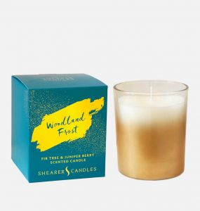 Woodland Frost Scented Candle With Gift Box