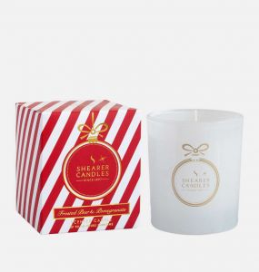 Frosted Pear and Pomegranate Candle Gift