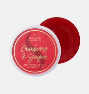 Cranberry And Ginger Wax Melt