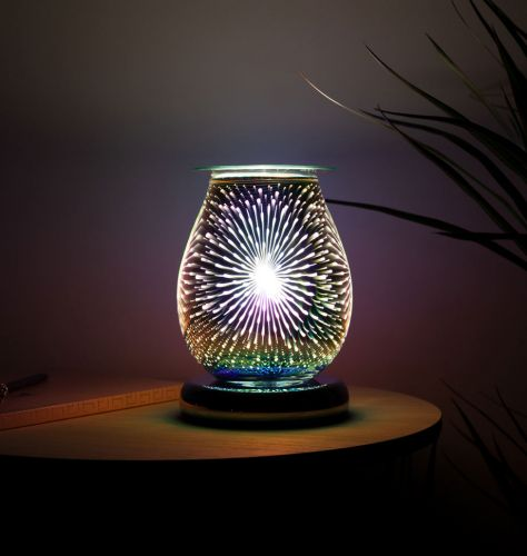 3D Oval Fountain Touch Electric Burner