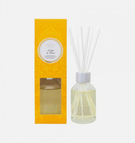 Amber and Rose Scented Reed Diffuser