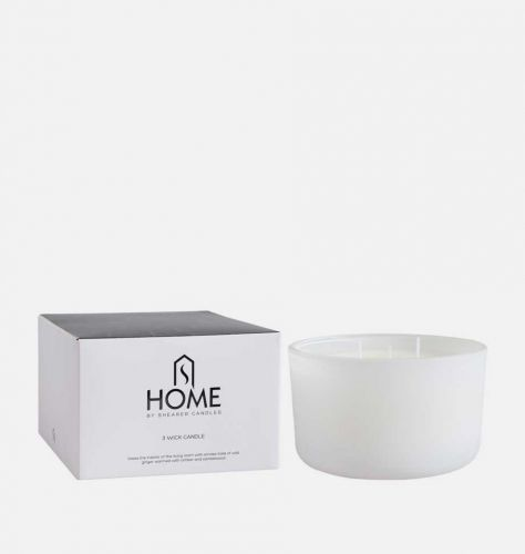 Mantelpiece 3 Wick Candle With Gift Box