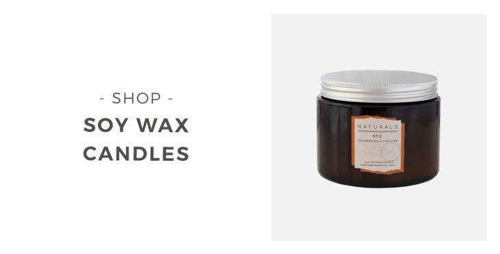 Shop Soy Wax Candles