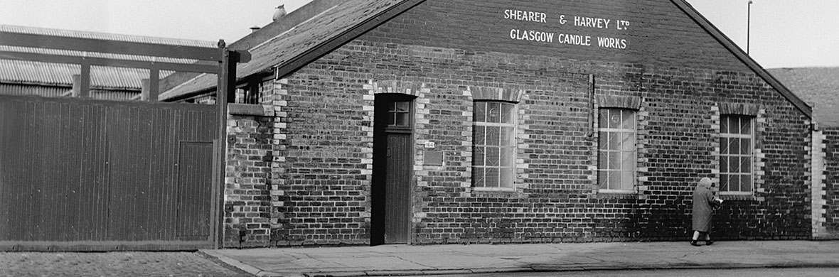 Shearer Candles Factory in the 50's